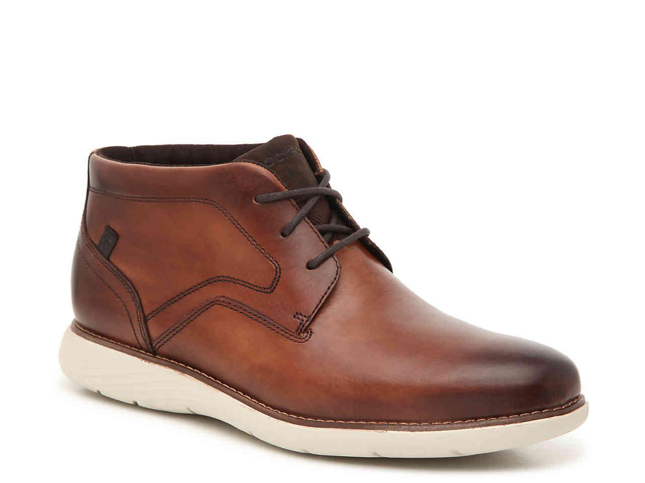 8694d233c0228 Lyst - Rockport Garett Chukka Boot in Brown for Men
