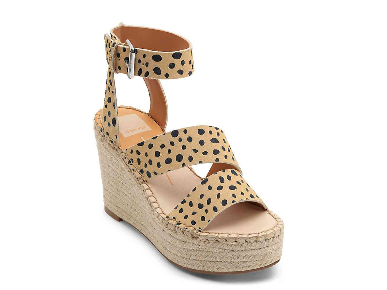 d1077109e33 Lyst - Dolce Vita Shayla Espadrille Wedge Sandal in Natural