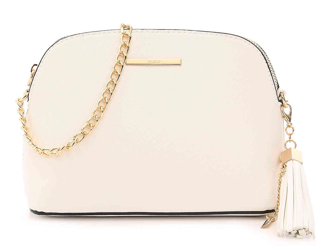 Lyst - ALDO Elroodie Crossbody Bag in White d31d681e02fa4
