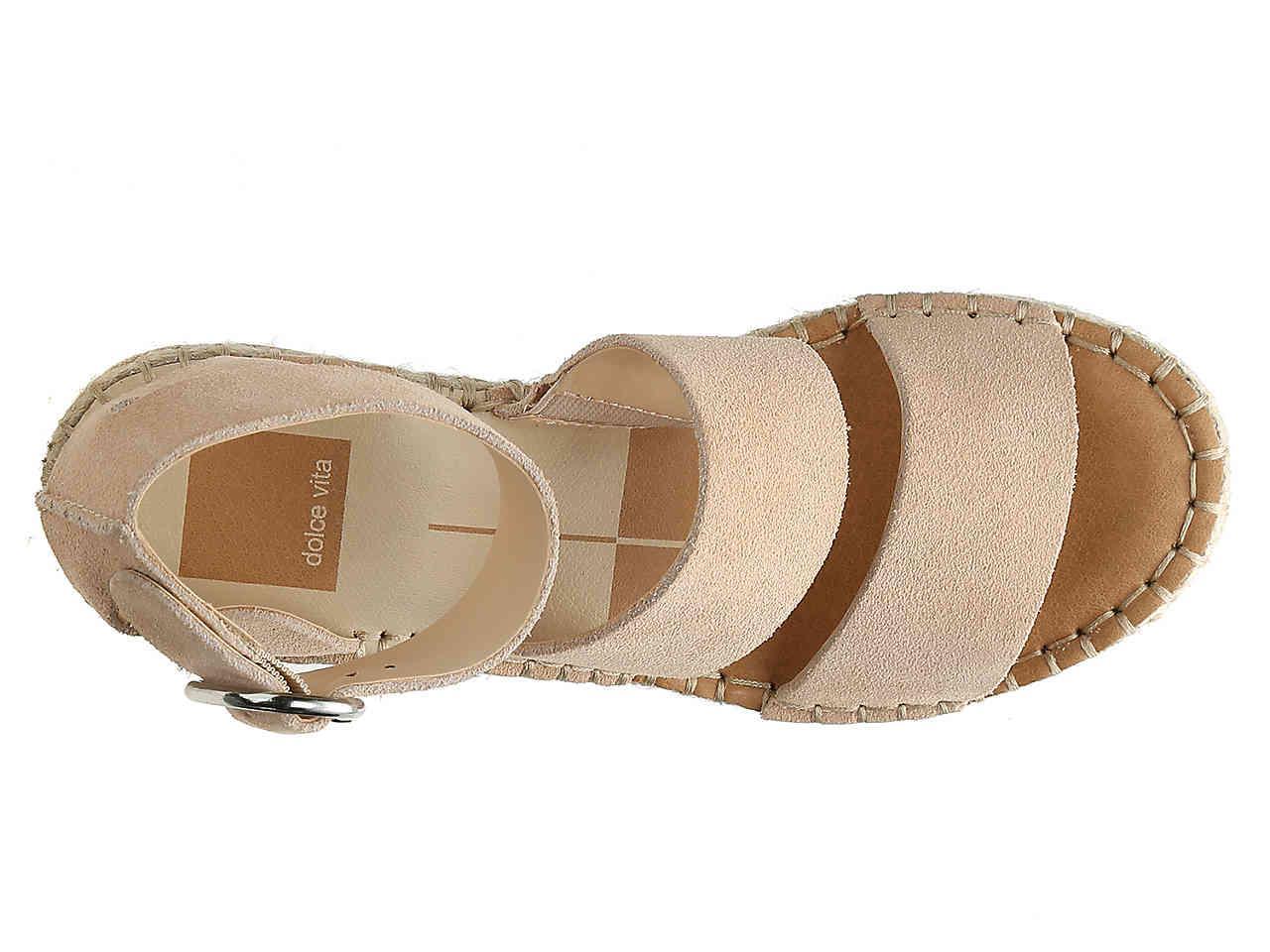 d9422c3c7f8 Dolce Vita - Natural Shae Espadrille Wedge Sandal - Lyst. View fullscreen