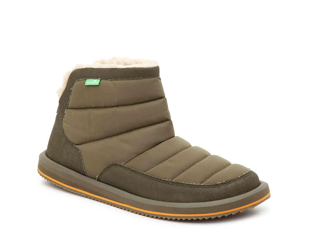 0ab347577679 Lyst - Sanuk Puff N  Chill Bootie in Green