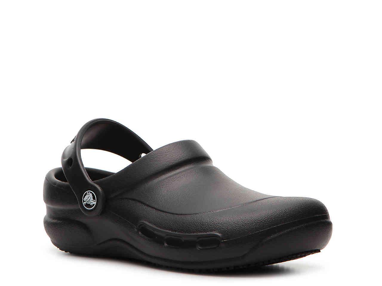 a88813633 Lyst - Crocs™ Bistro Work Clog in Black