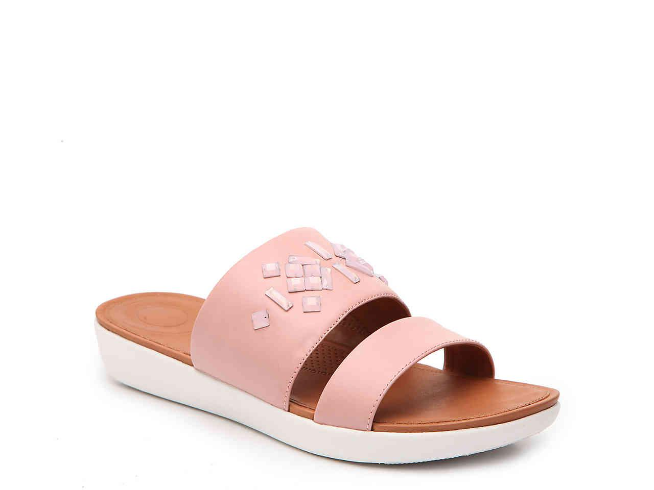 5038c60774b Lyst - Fitflop Delta Wedge Sandal in Pink - Save 70%