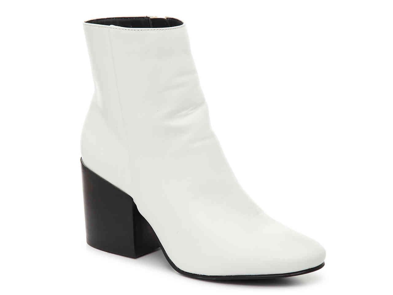 437e09026db0 Lyst - Madden Girl Aaden Bootie in White