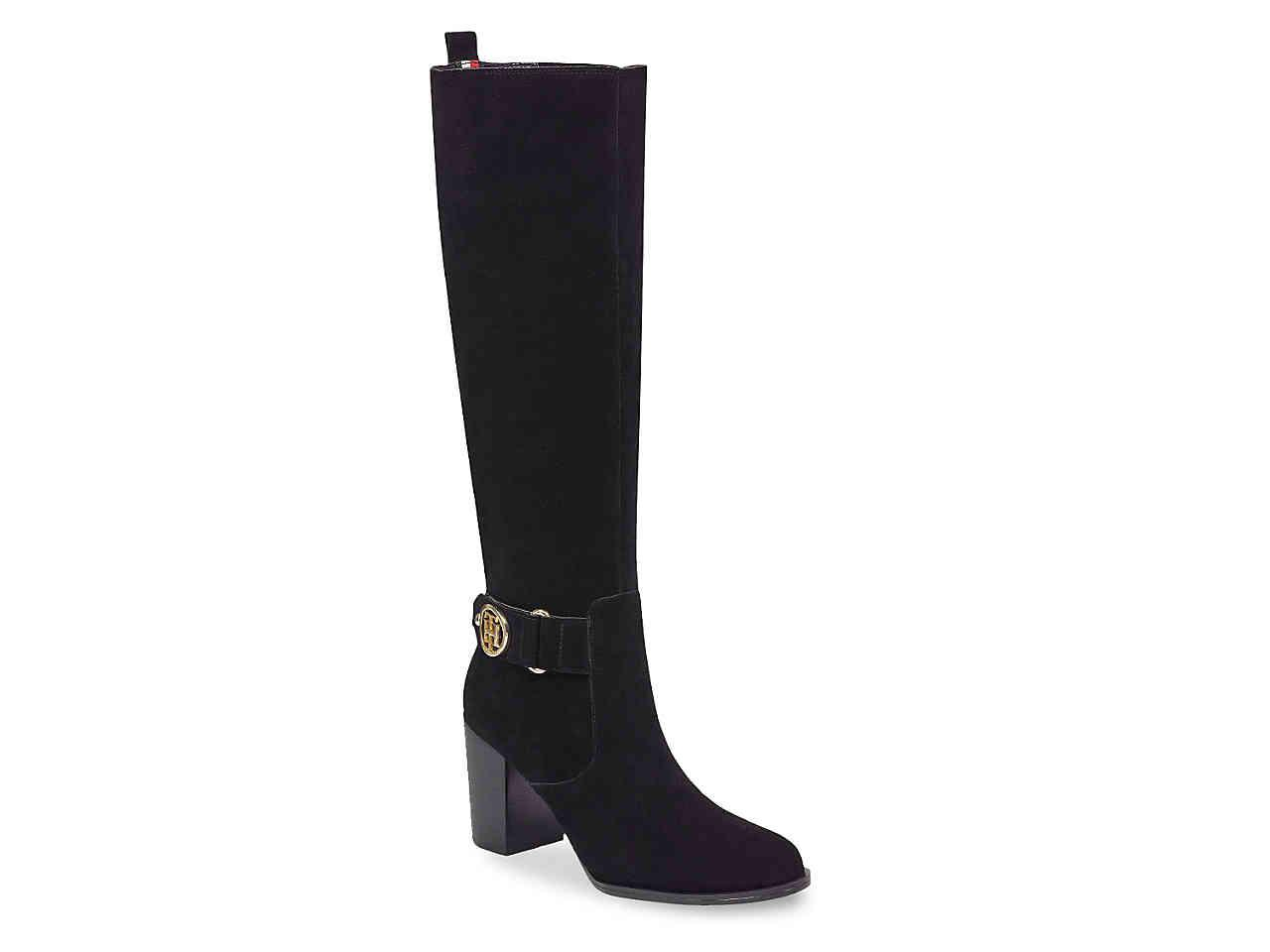 12b5e8c0b71 Lyst - Tommy Hilfiger Deeanne Boot in Black