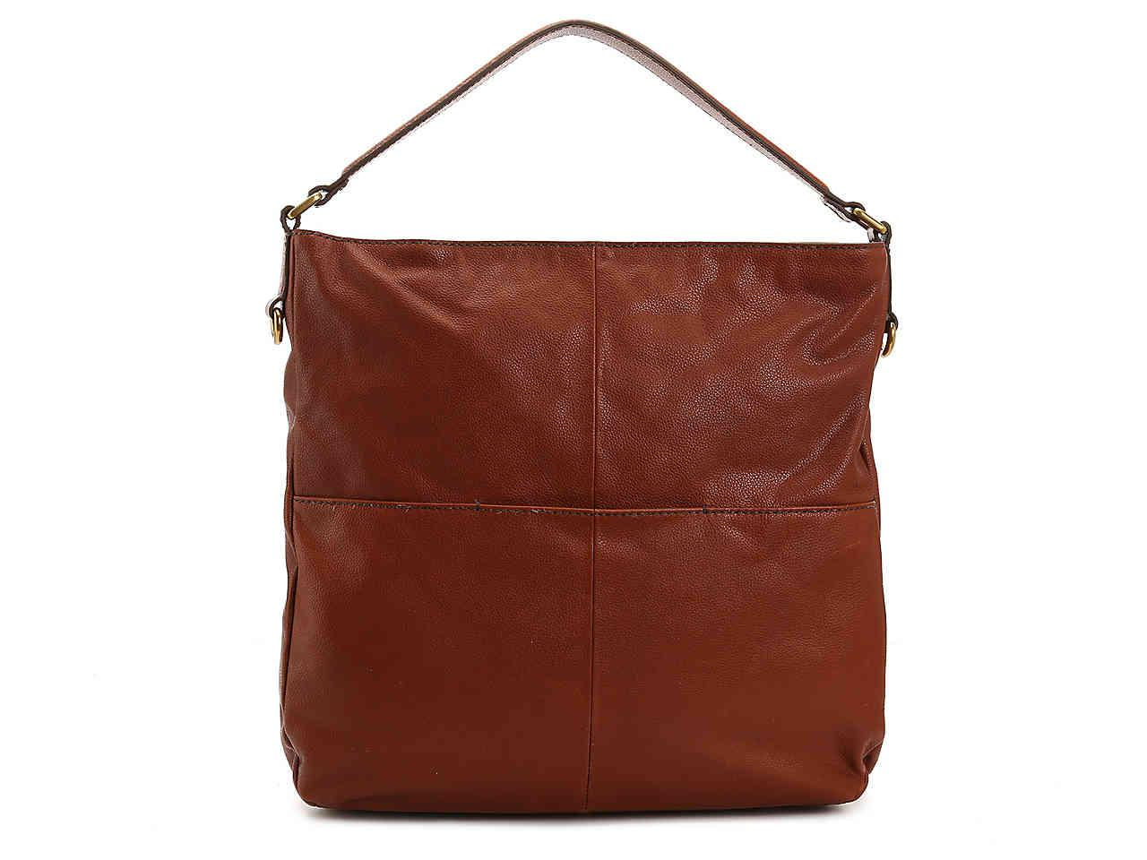 Fossil - Brown Corey Leather Hobo Bag - Lyst. View fullscreen c2afc4b348
