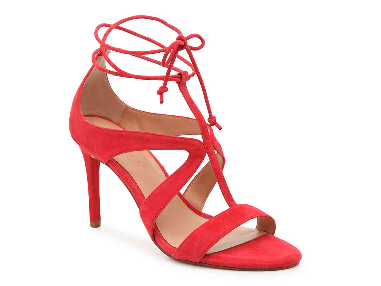 cfa493c1d1d9d8 Lyst - Halston Jordan Sandal in Red