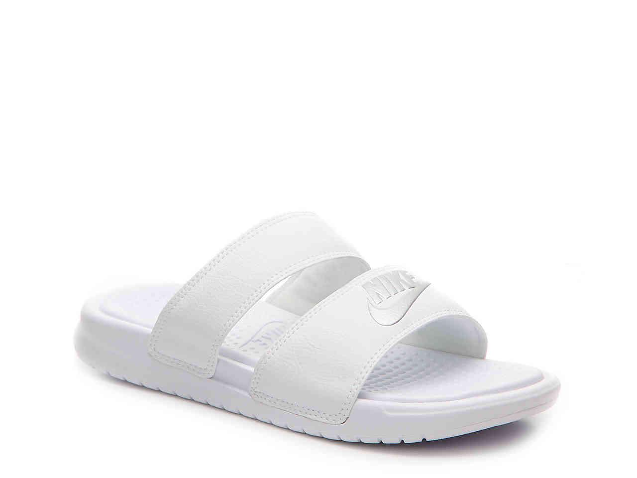 d514032a2 Nike - White Benassi Duo Ultra Slide Sandal - Lyst. View fullscreen