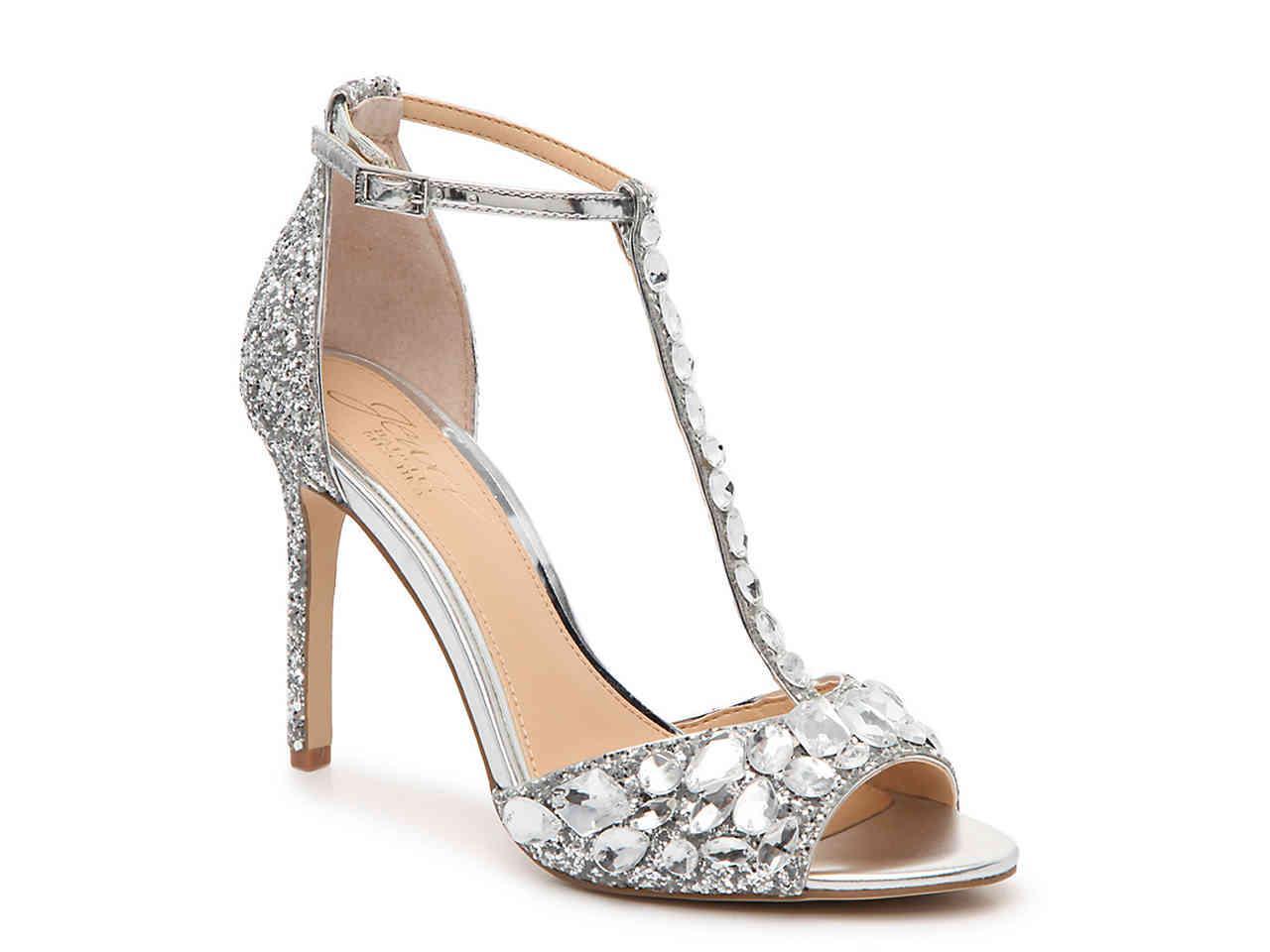 9f7cd090e003 Lyst - Badgley Mischka Graciella Sandal in Metallic