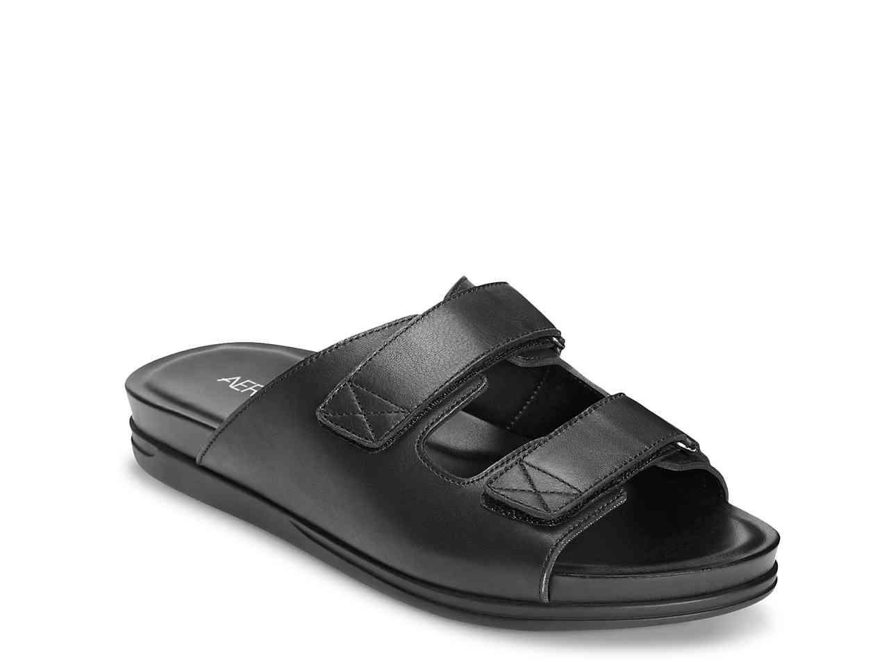 b3321fffff Lyst - Aerosoles Happy Hour Sandal in Black
