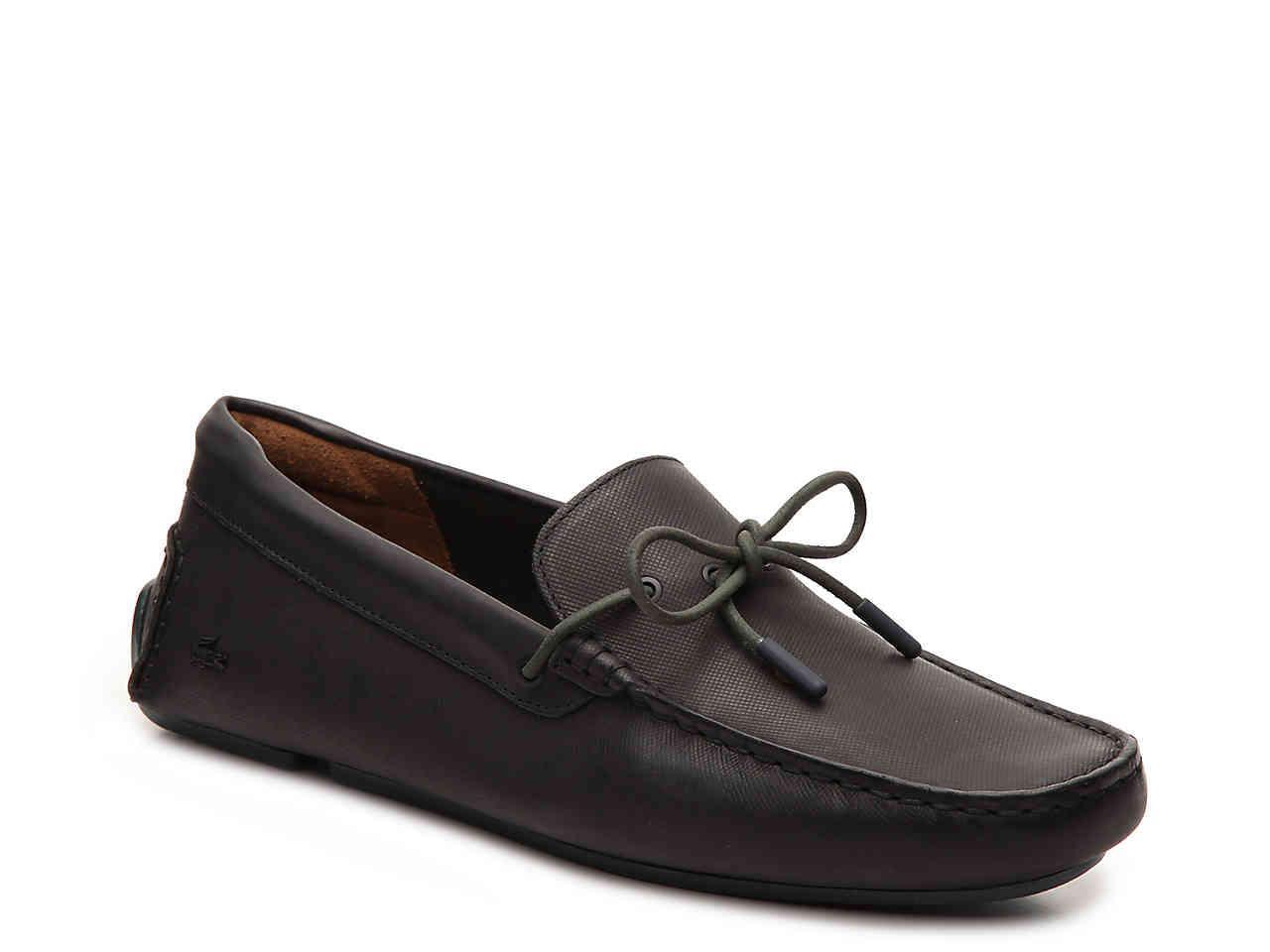 d9497dda22b6e9 Men s Black Piloter Loafer best quality e422a e4501  Lyst - Lacoste Concours  18 Driving Moc ...