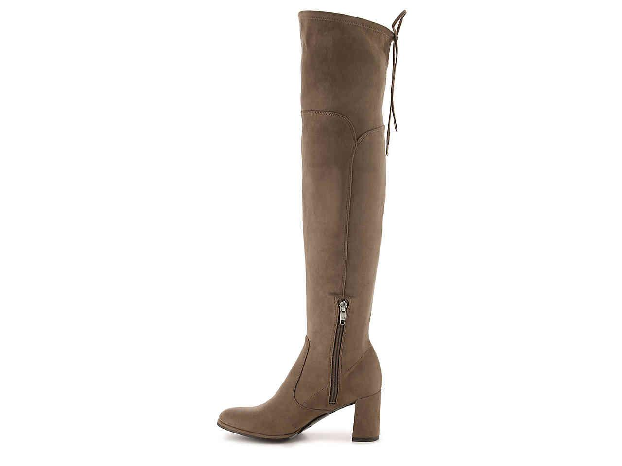 0e7511a66675 Lyst - Marc Fisher Locket Over The Knee Boot in Brown