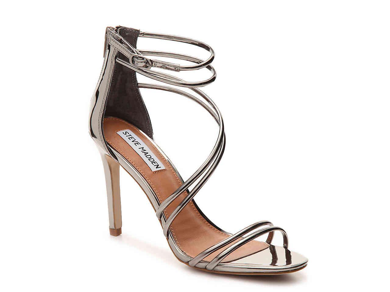 e2a1f672f97 Lyst - Steve Madden Fico Sandal in Metallic