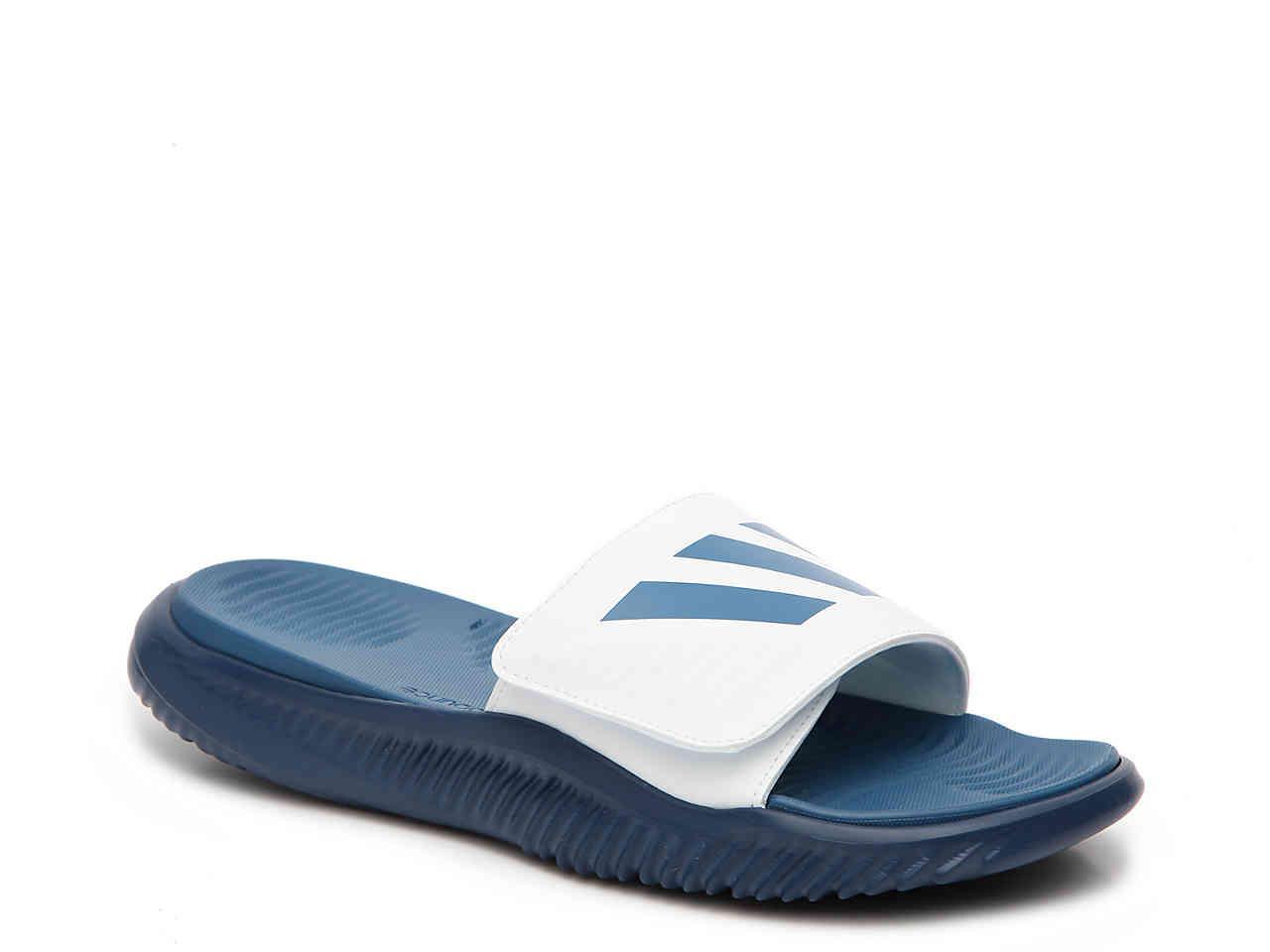 75d9c9c0be4 Lyst - adidas Alpha Bounce Slide Sandal in Blue for Men