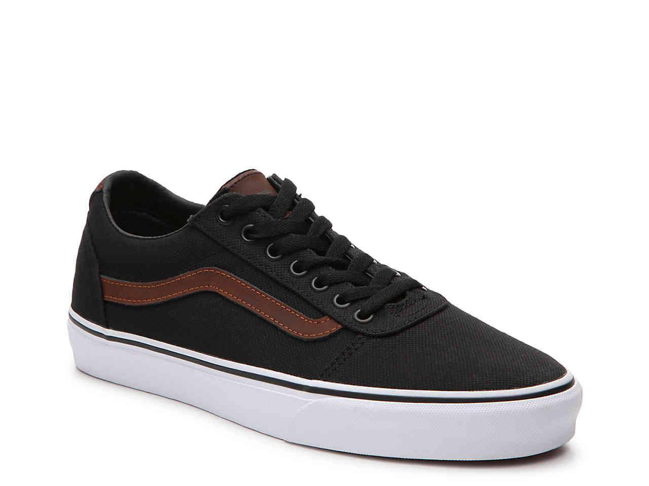 35da6f967027 Lyst - Vans Ward Lo Sneaker in Black for Men