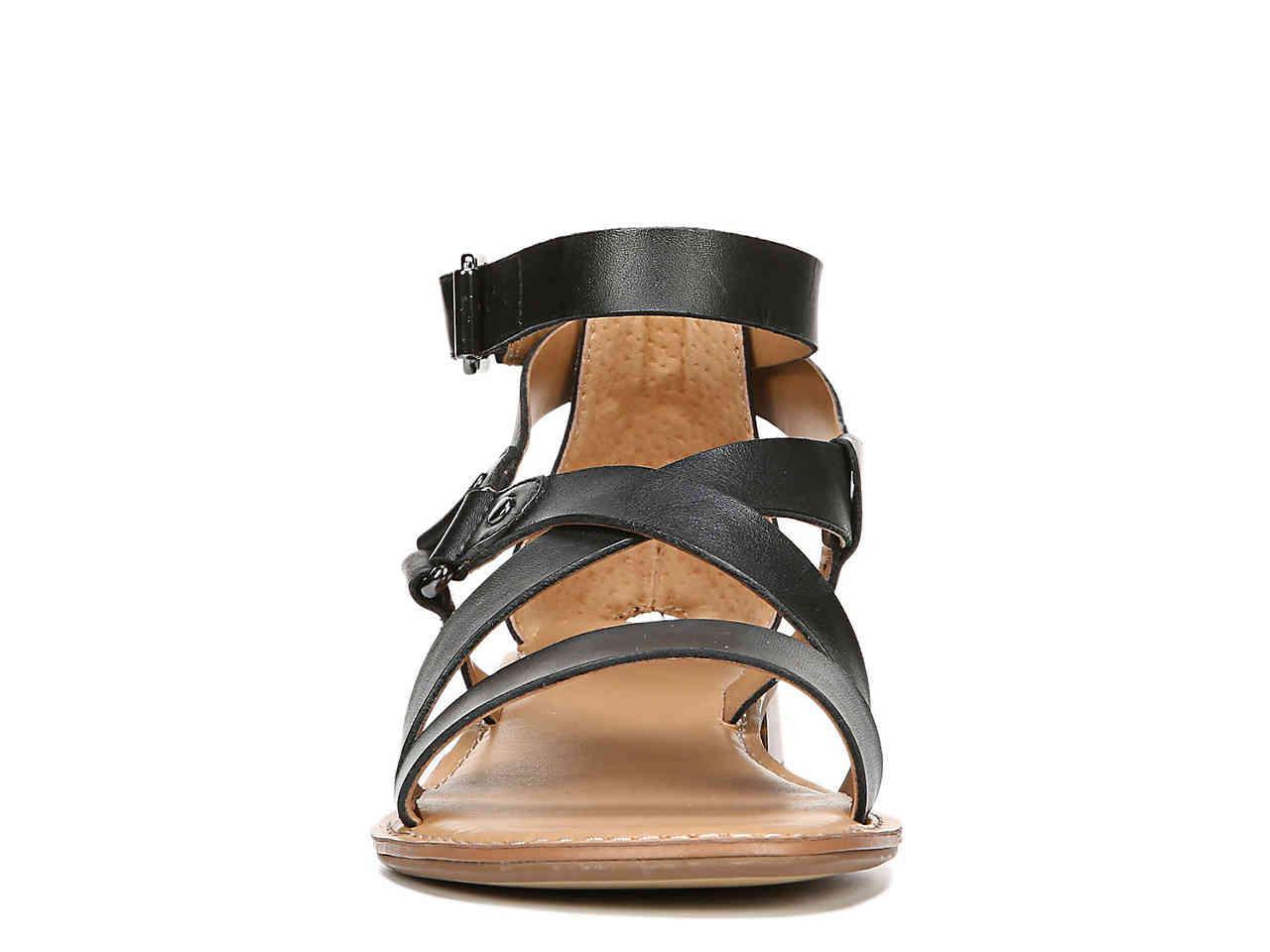 042a4569aaea Lyst - Franco Sarto April Gladiator Sandal in Black