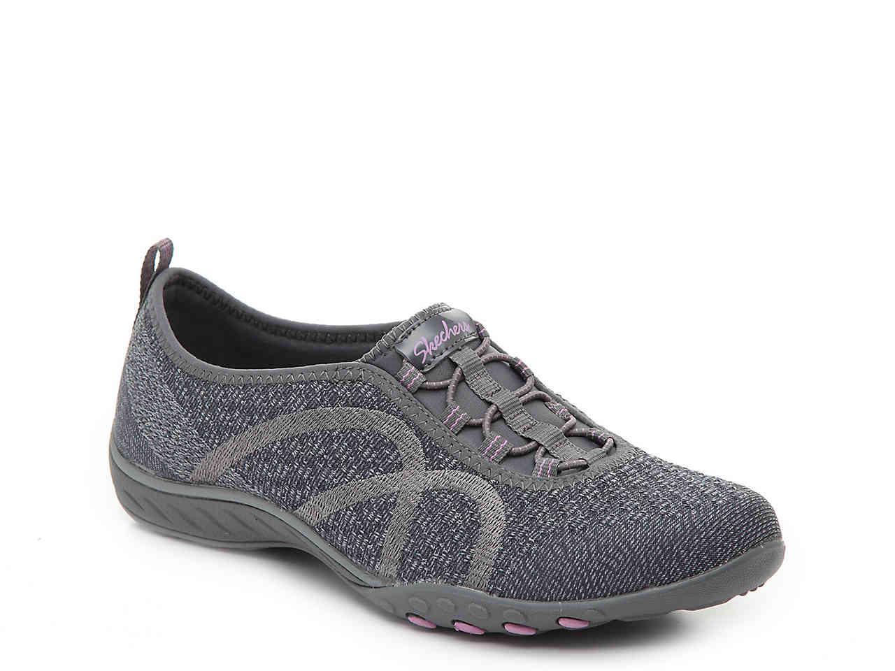 Lyst - Skechers Fortune Slip-on Sneaker in Gray c3cf6320c9