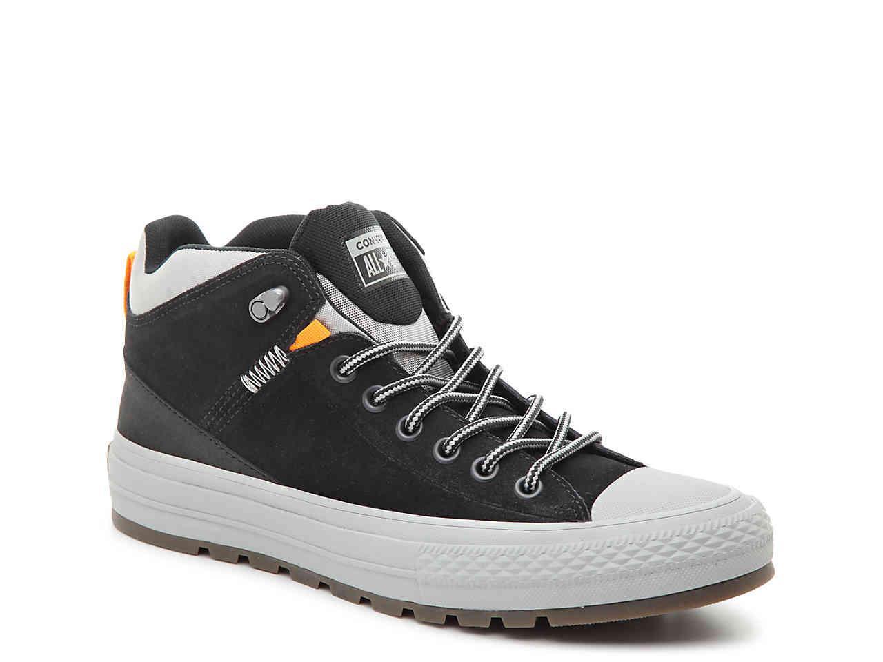 66f71320325c95 Lyst - Converse Chuck Taylor All Star Street Mid-top Sneaker in Black
