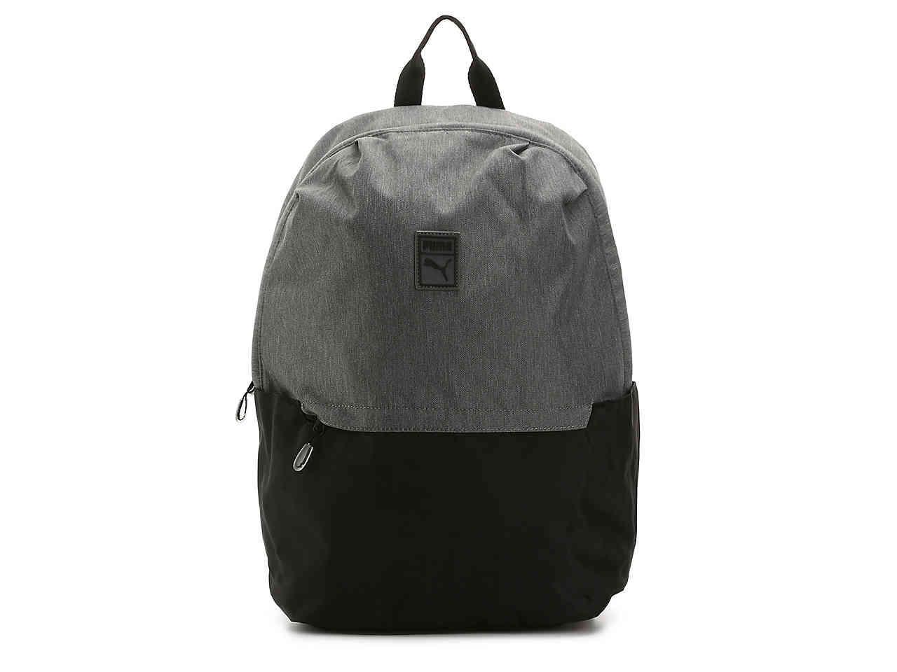 Lyst - Puma Imprint Backpack in Black 7427e97687