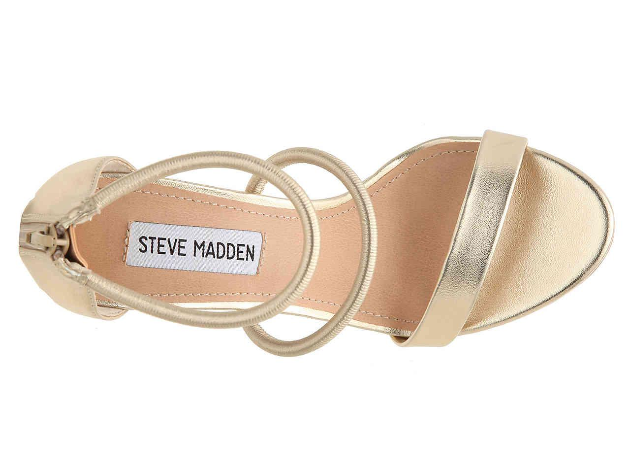 3d5739d121 Steve Madden Clay Sandal in Metallic - Lyst