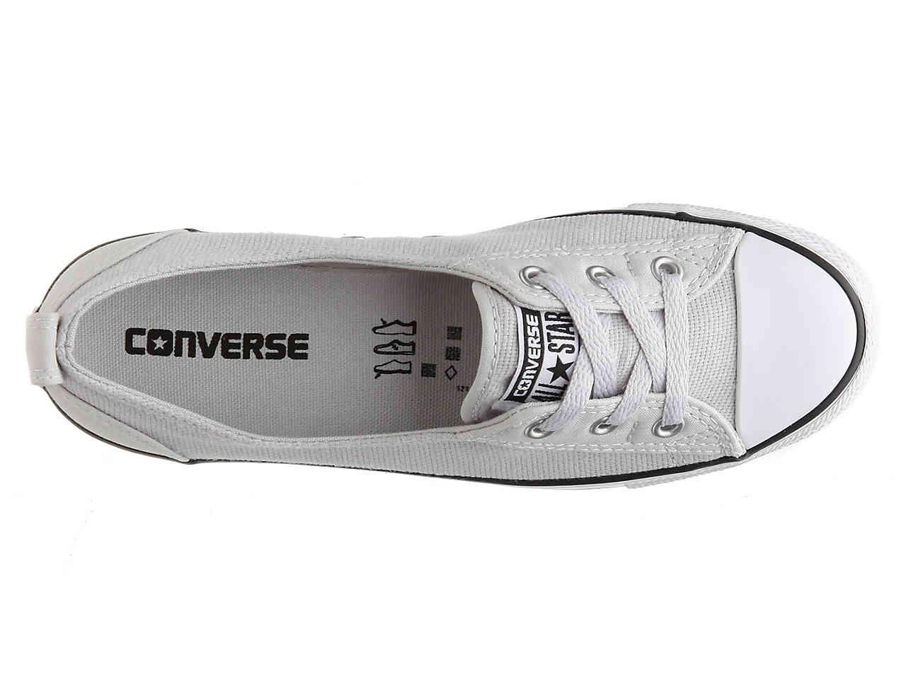 2be6ca45c7bf38 Lyst - Converse Chuck Taylor All Star Dainty Ballet Slip-on Sneaker ...