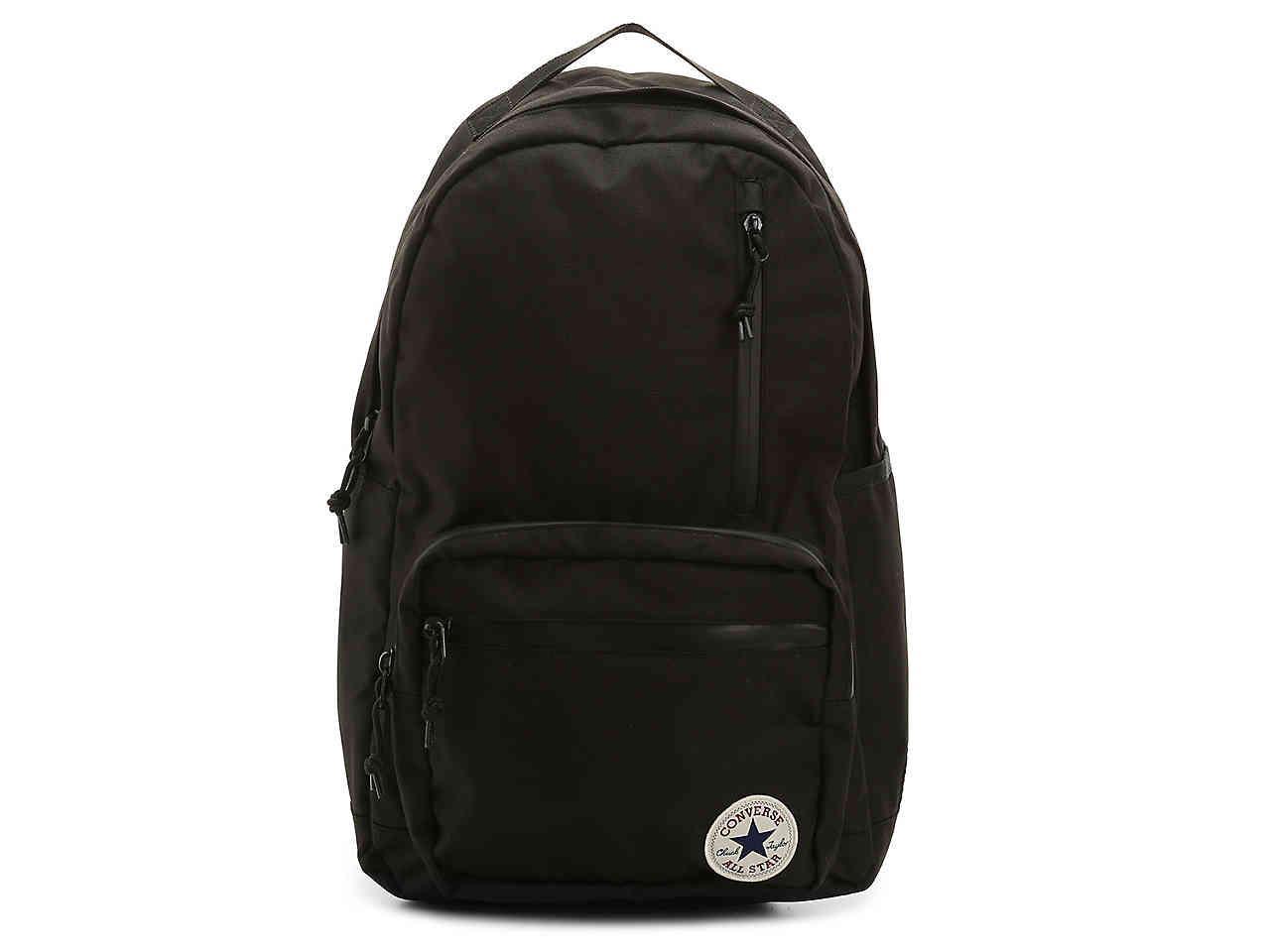b0990b3cbf85 Lyst - Converse Go Backpack in Black