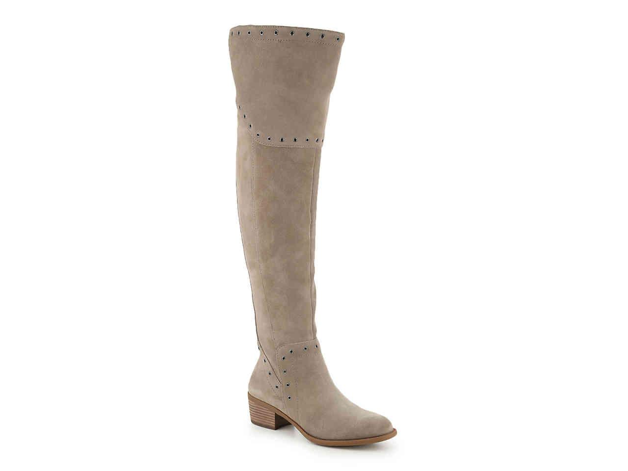 6909db342715 Lyst - Vince Camuto Bestan Over The Knee Boot in Brown