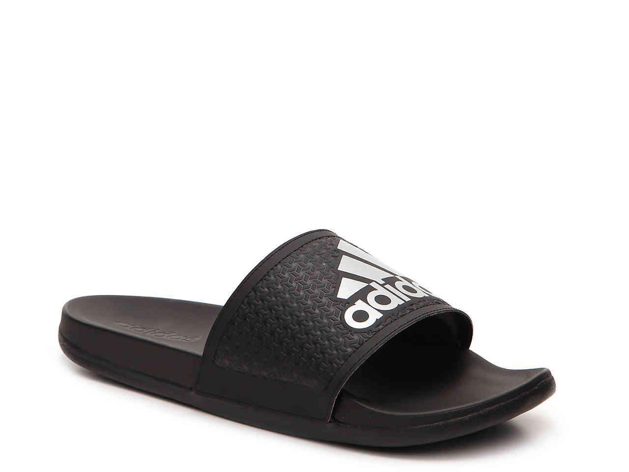 5cb16ec37 Lyst - adidas Adilette Supercloud Plus Slide Sandal in Black for Men