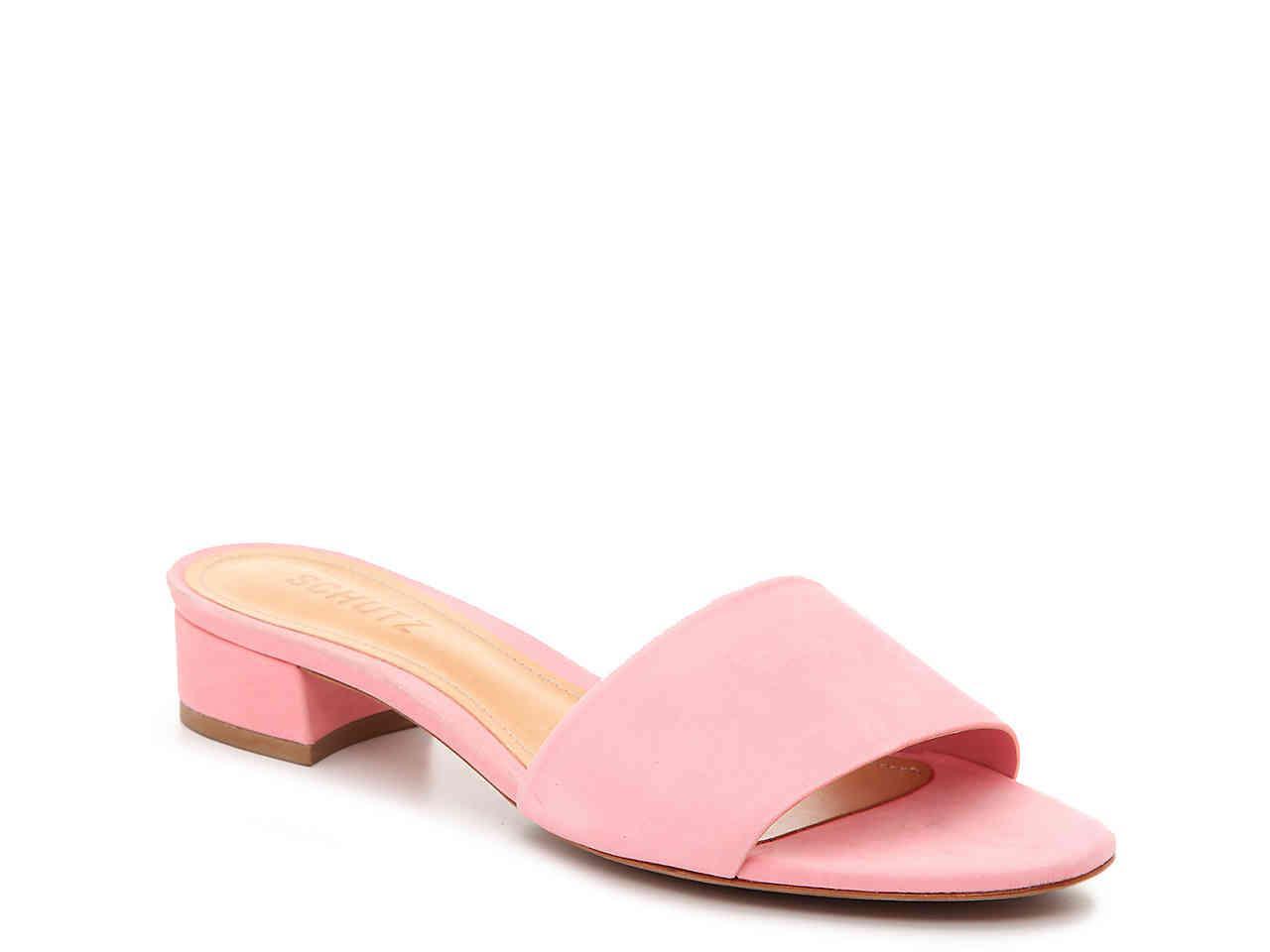 15198ece15e0 Lyst - Schutz Elke Sandal in Pink