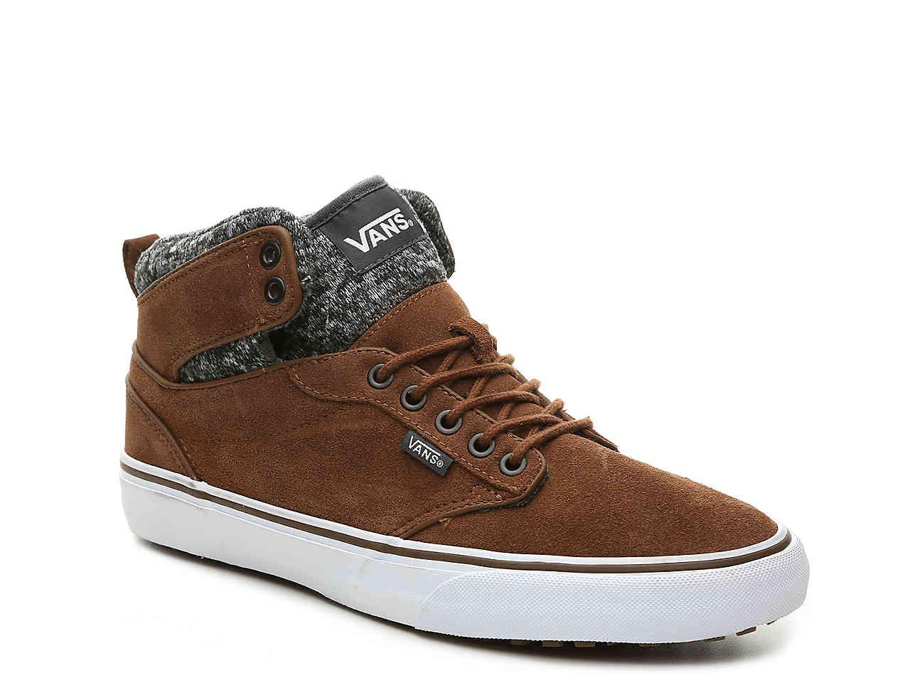 1edf4f2be8c Lyst - Vans Atwood Hi Mte High-top Sneaker in Brown for Men