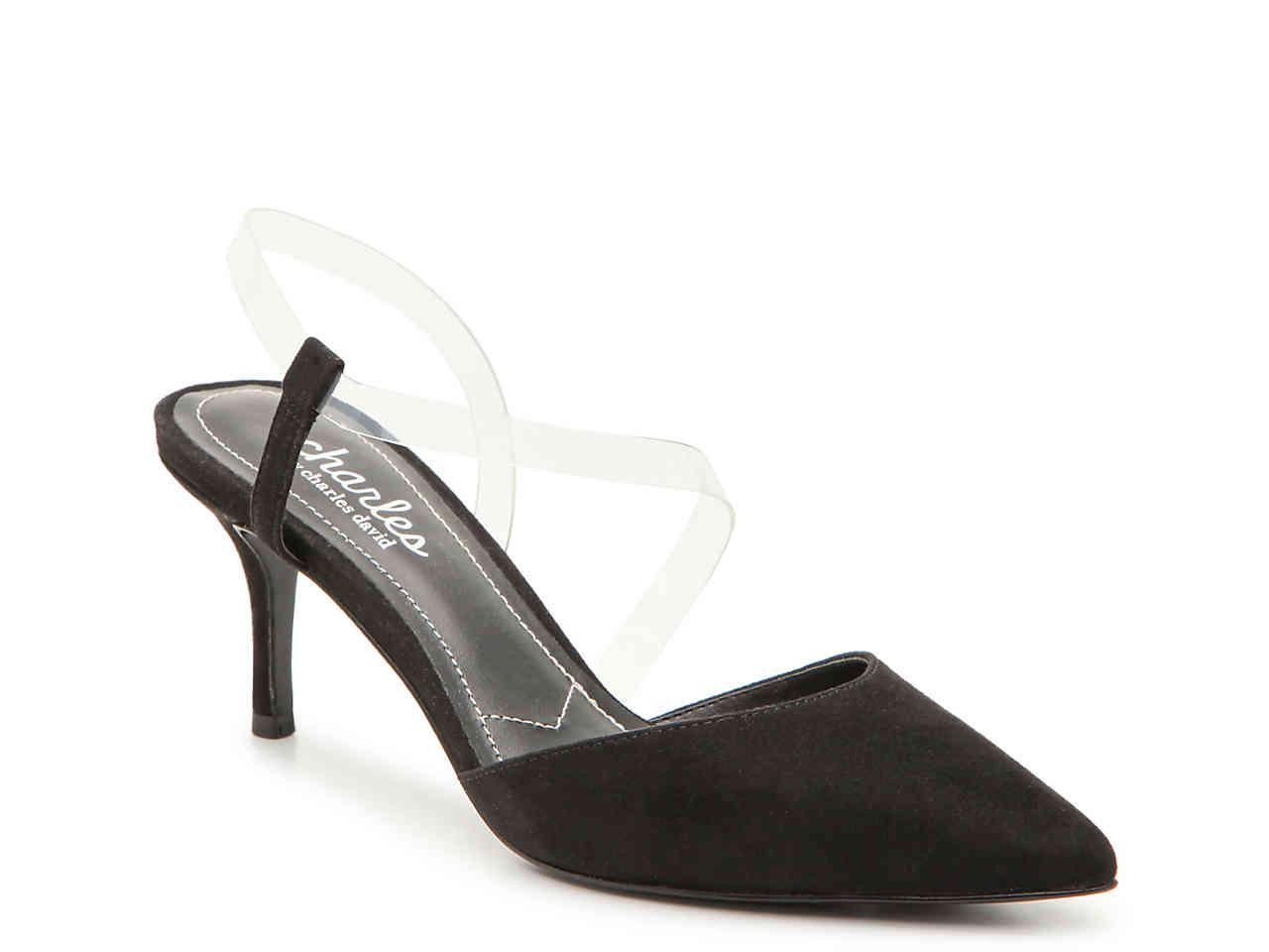 47ed609a6e9 Lyst - Charles David Alda Pump in Black