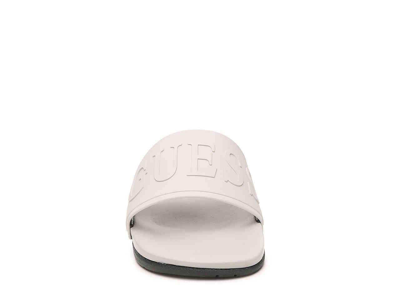 c03631407a4b Guess - Gray Gmdelfino Slide Sandal for Men - Lyst. View fullscreen