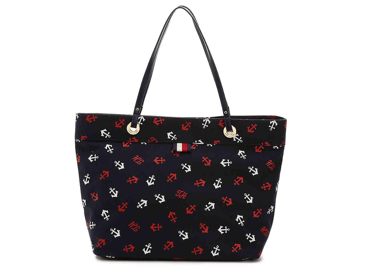 1ac714d155 Lyst - Tommy Hilfiger Anchor Tote in Blue