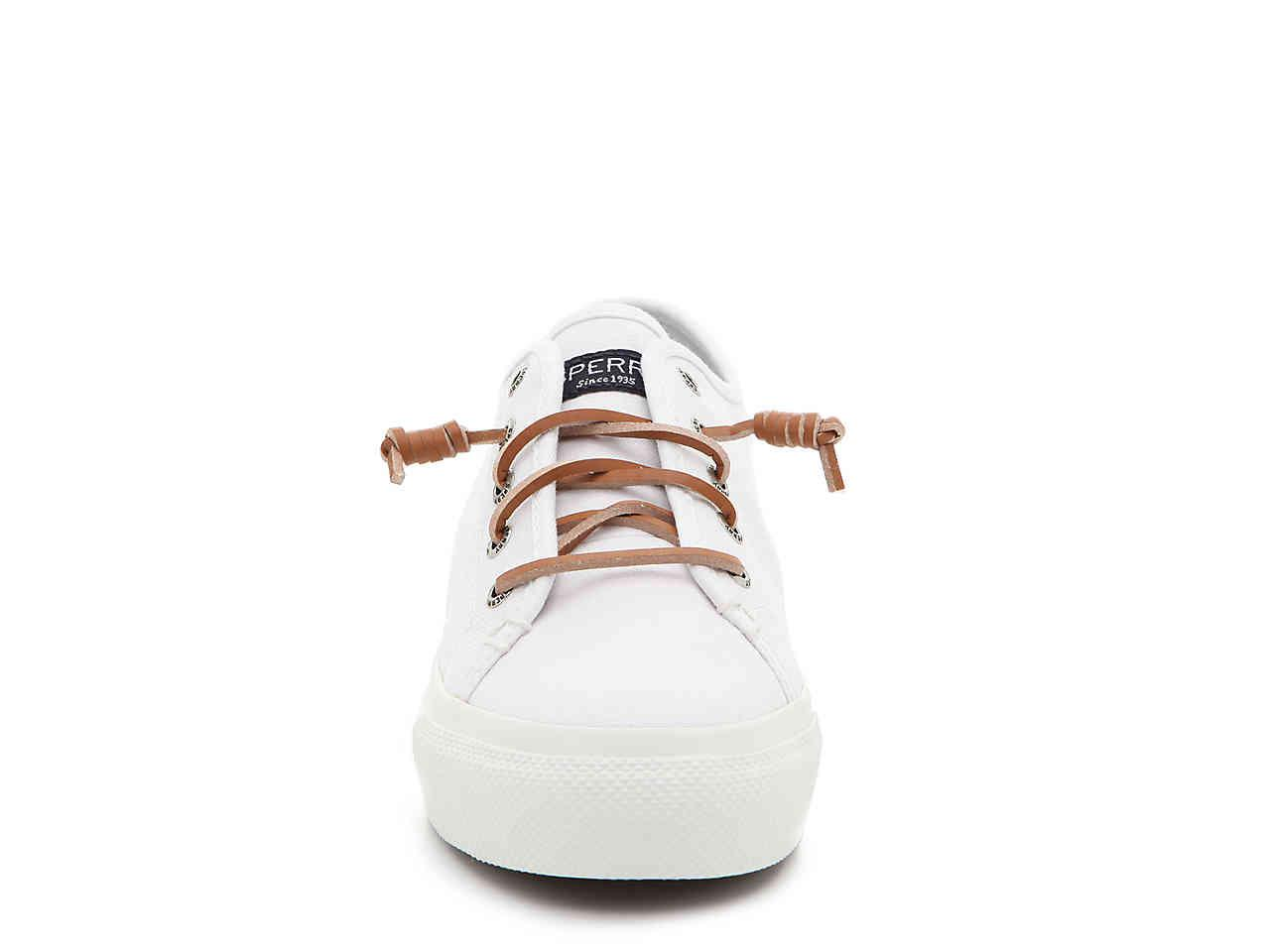 1634a0203f6 Lyst - Sperry Top-Sider Cliffside Platform Slip-on Sneaker in White ...