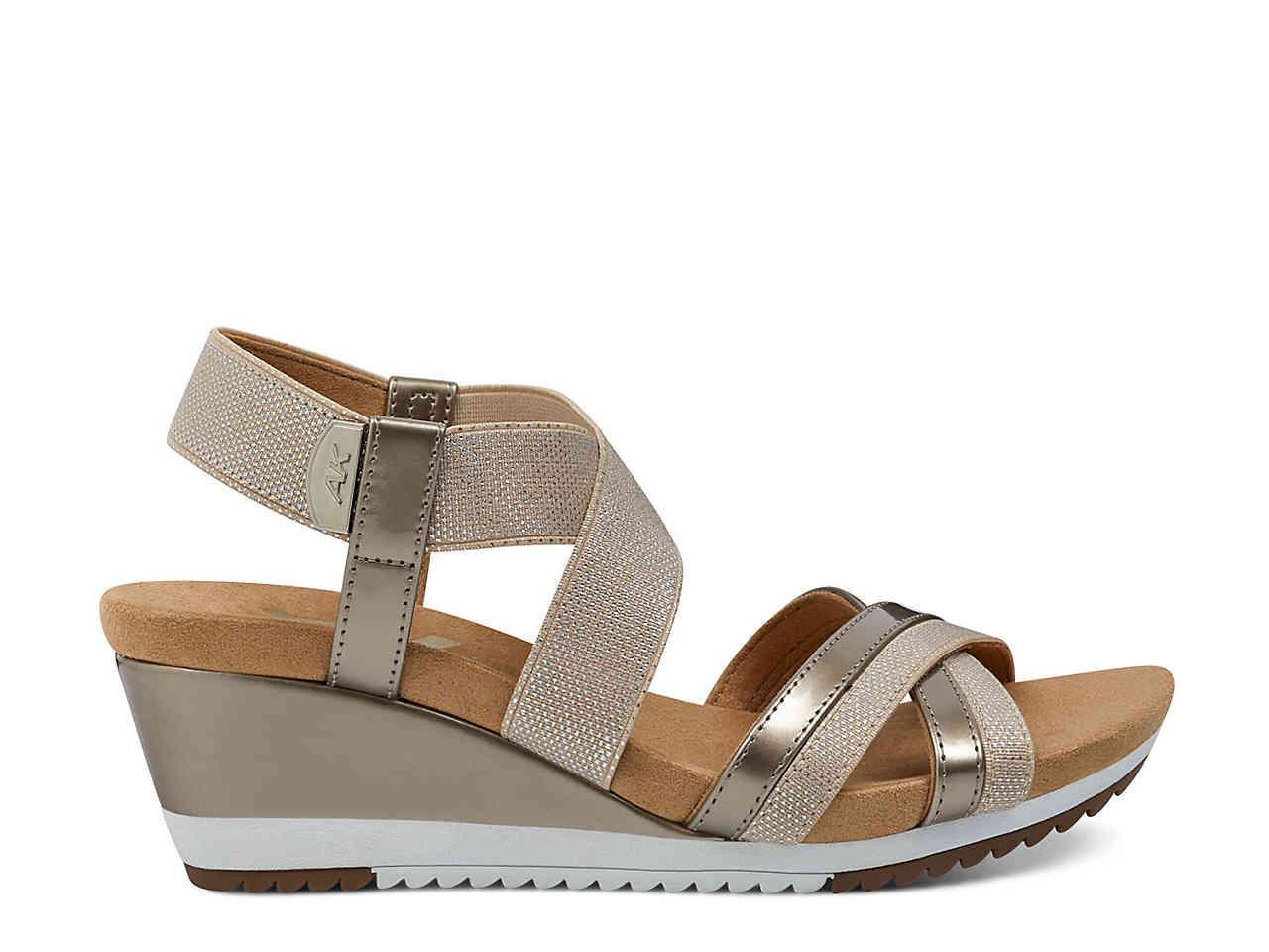 50e2f39db9e Lyst anne klein sport siesta wedge sandal jpg 1280x960 Anne klein sport  sandals
