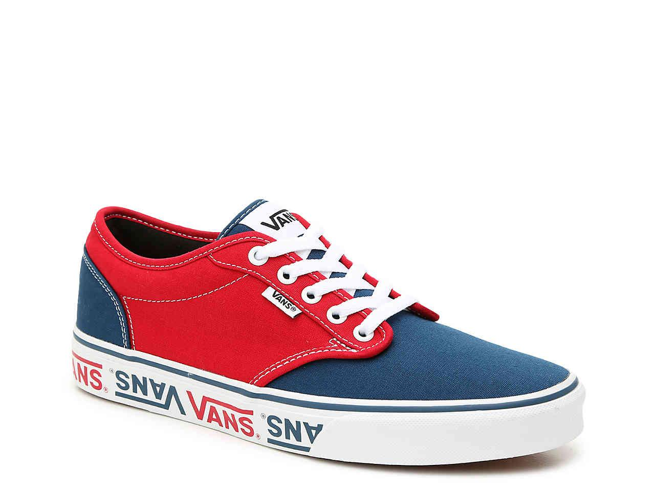 b57644efe17 Lyst - Vans Atwood Logo Sneaker in Red for Men