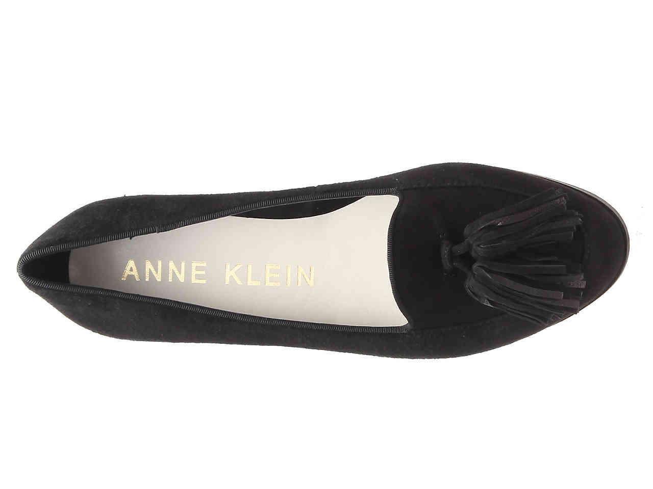 fb2ee5e7f57 Lyst - Anne Klein Darcey Loafer in Black