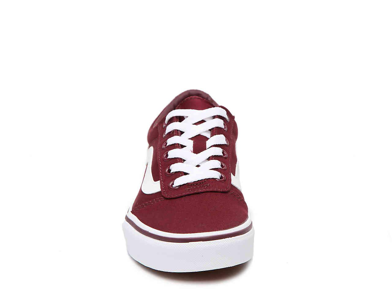 a3aae3bdd75 Lyst - Vans Ward Lo Sneaker in Red