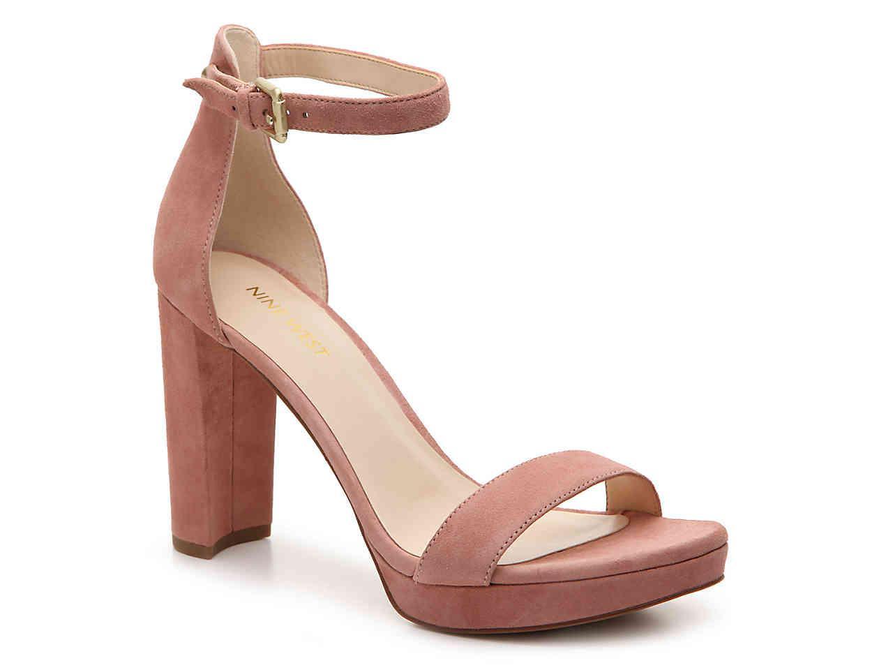 230959c185f7 Lyst - Nine West Dempsey Platform Sandal in Pink