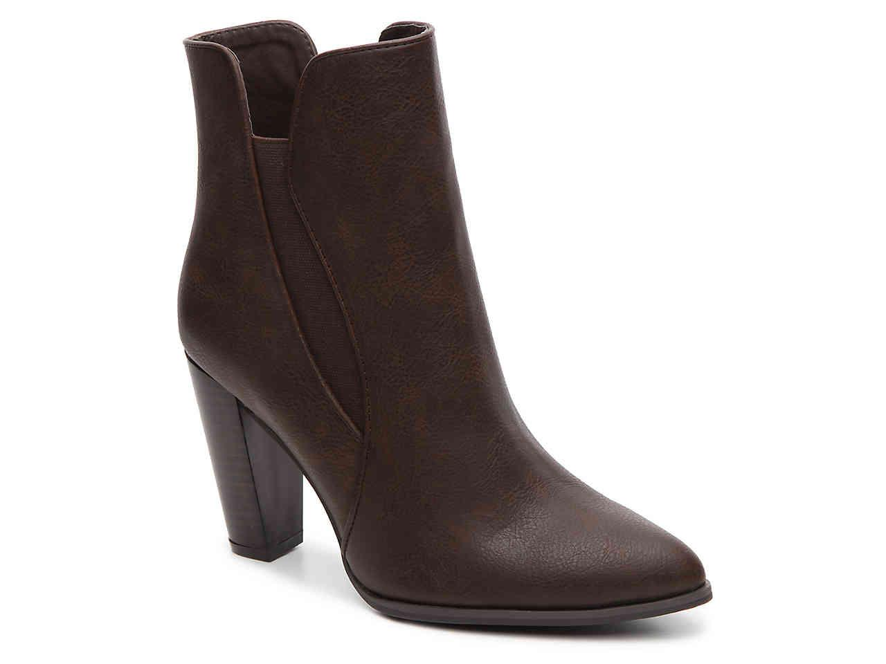 Shopping Online Cheap Price Penny Loves Kenny Avid High Heal Chelsea Boot(Women's) -Khaki Faux Leather Largest Supplier Sale Online Buy Cheap Footlocker Finishline Clearance Pay With Visa 2018 Newest 4hZppeILj