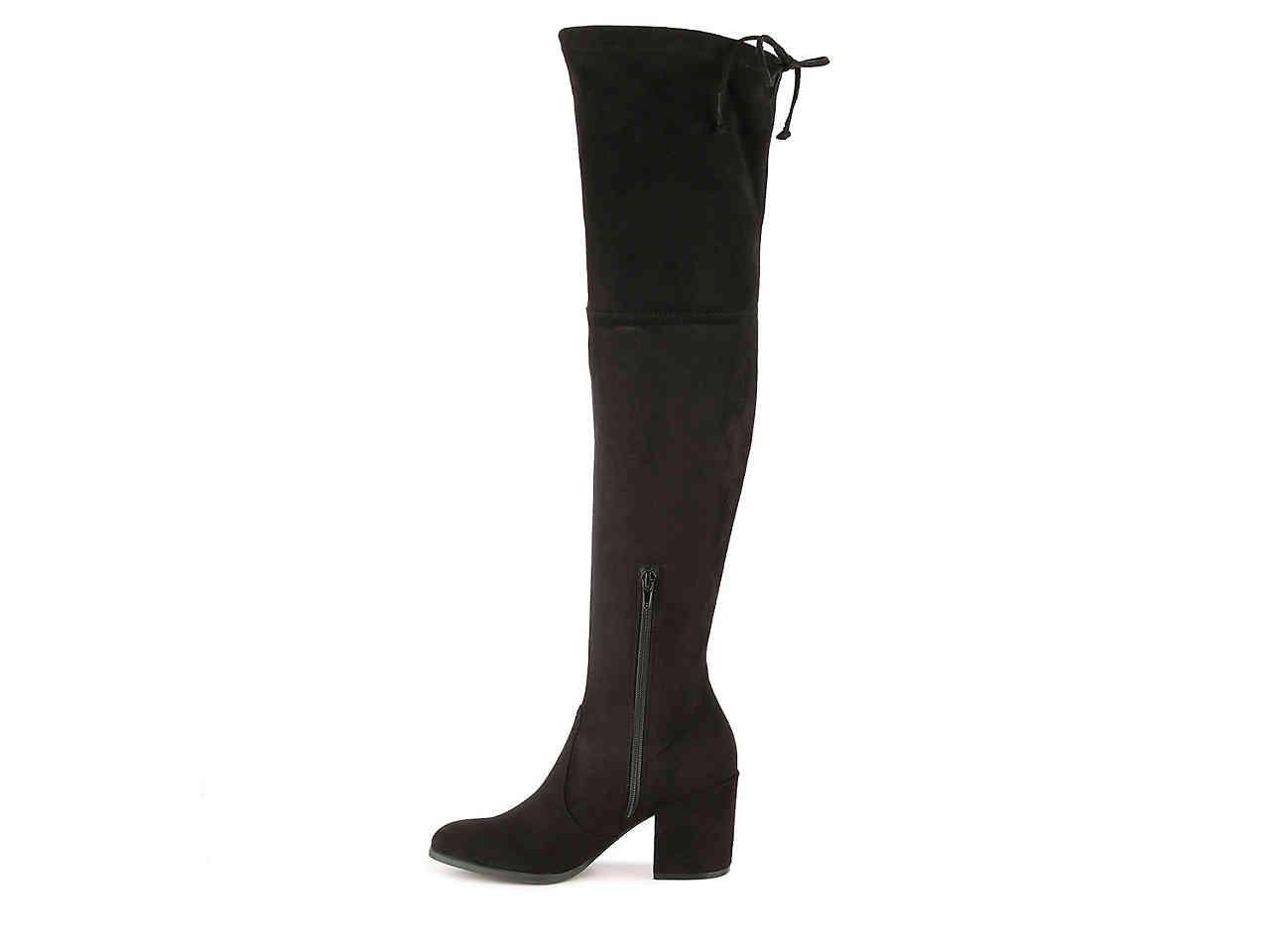 a25ecffdb97 Lyst - Unisa Dedrii Over The Knee Boot in Black