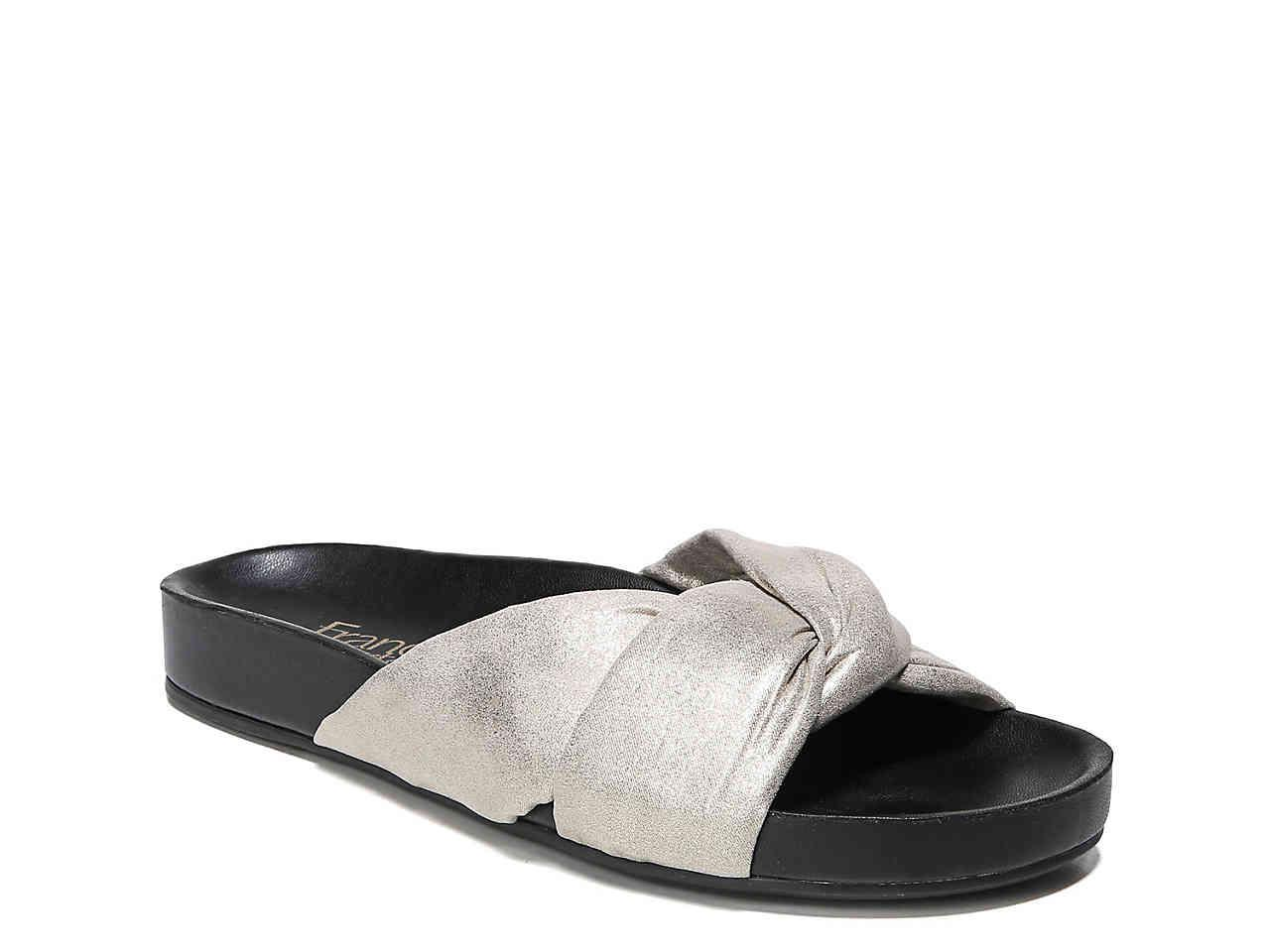 enjoy cheap online Franco Sarto Deano Suede Slide discount newest outlet geniue stockist fast delivery discount order wKzyDRjaV7