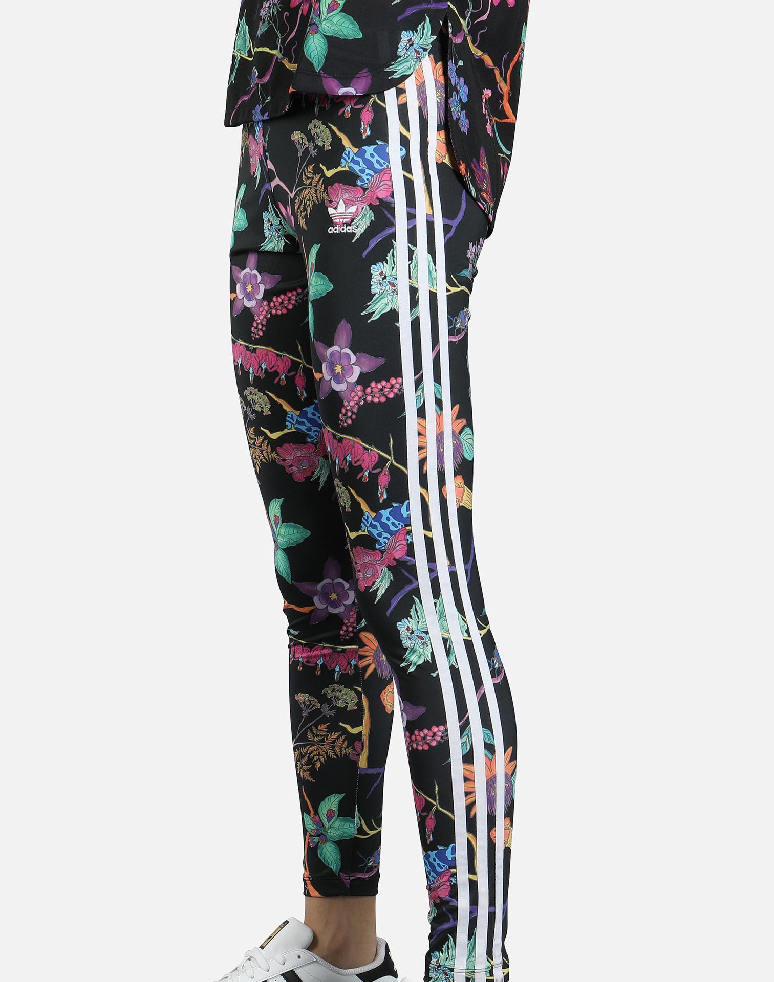1404821100738 Lyst - Adidas Poisonous Garden Leggings