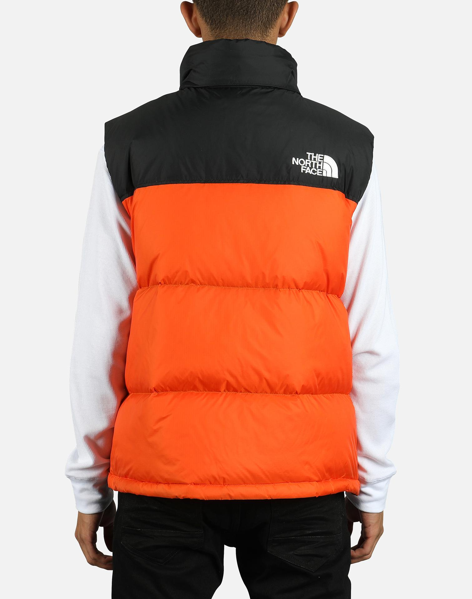 011678e7f5 Lyst - The North Face 1996 Retro Nuptse Vest in Orange for Men