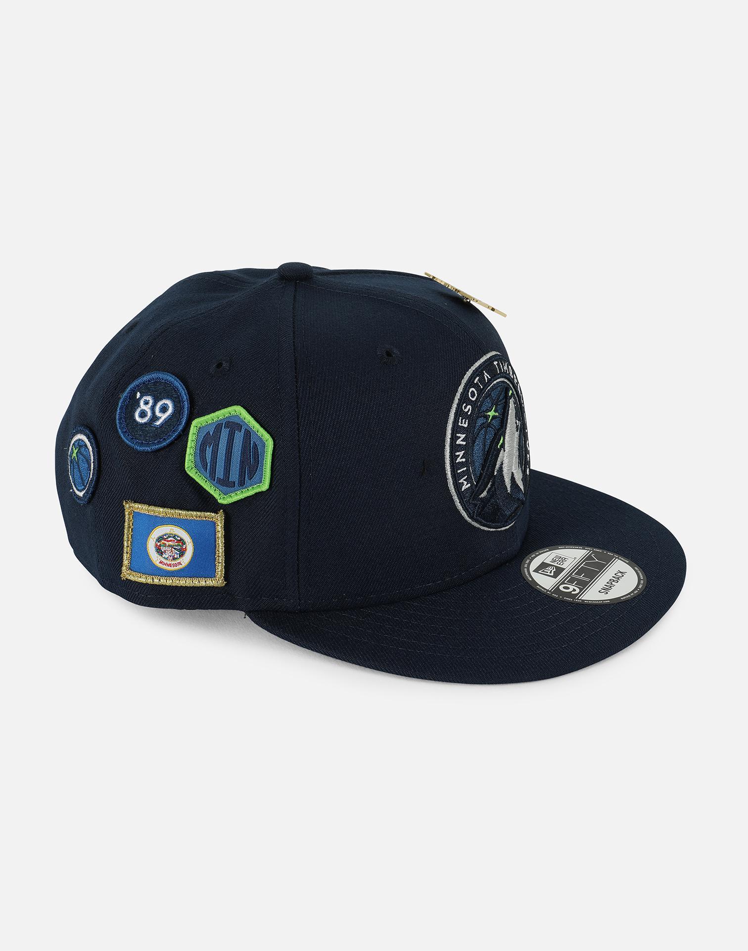 sports shoes 2c923 84eb2 Lyst - Ktz Minnesota Timberwolves Nba 2018 Draft 9fifty Snapback Hat ...