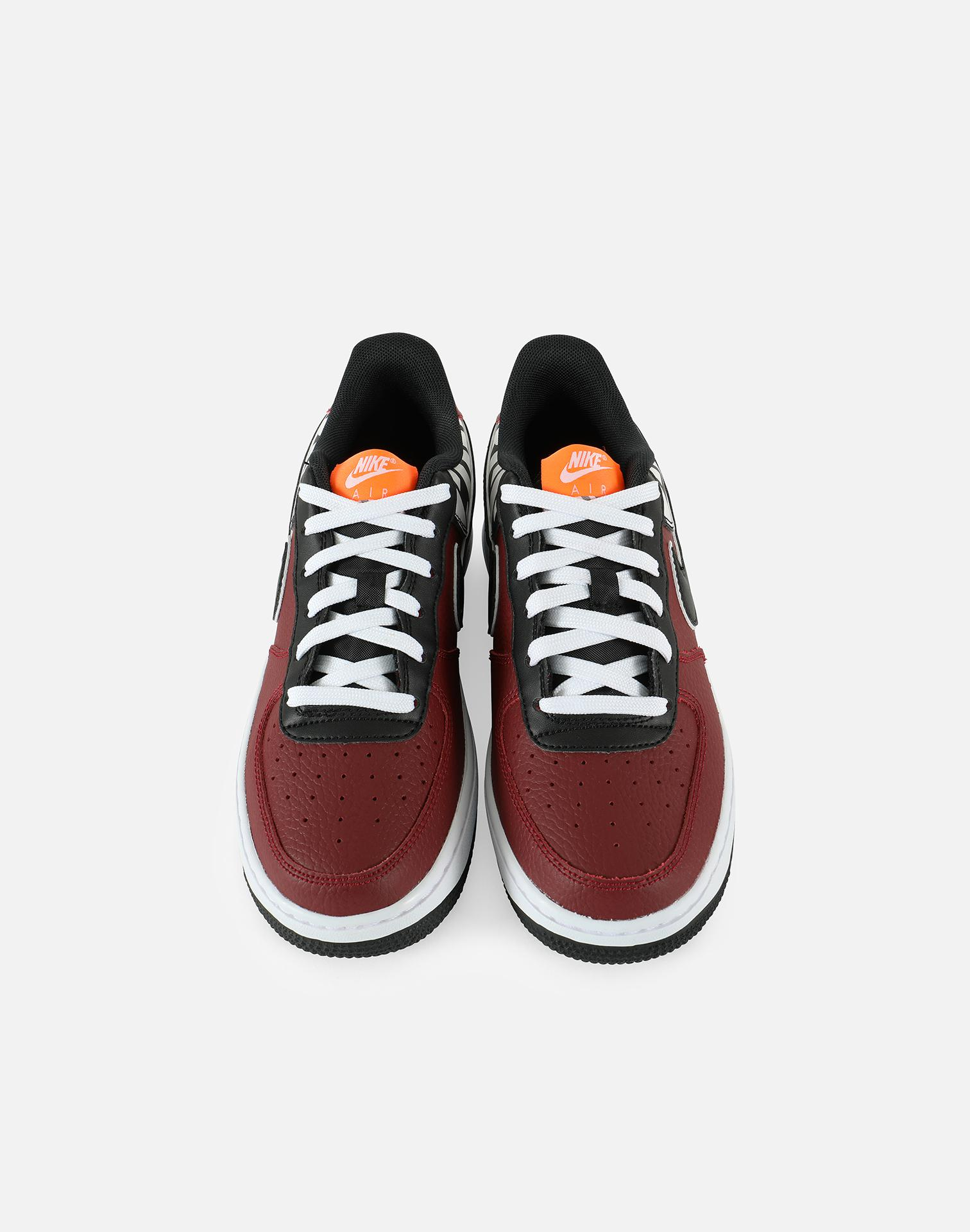 be046916ca77 ... official store lyst nike air force 1 low lv8 grade school in red for men  f7080