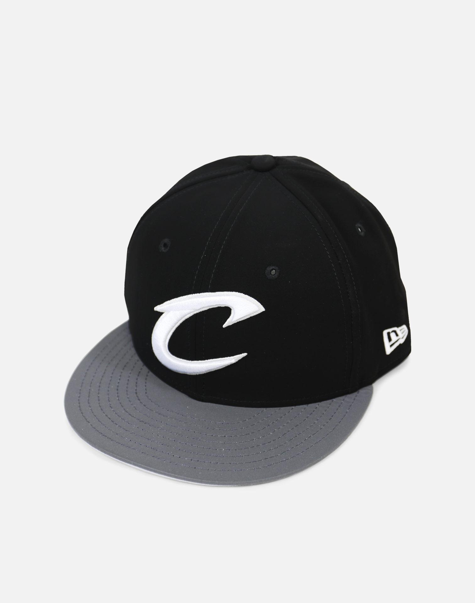 low priced a2bfc b7c60 Lyst - Ktz Cleveland Cavaliers Reflective Hook Snapback Hat in Black ...