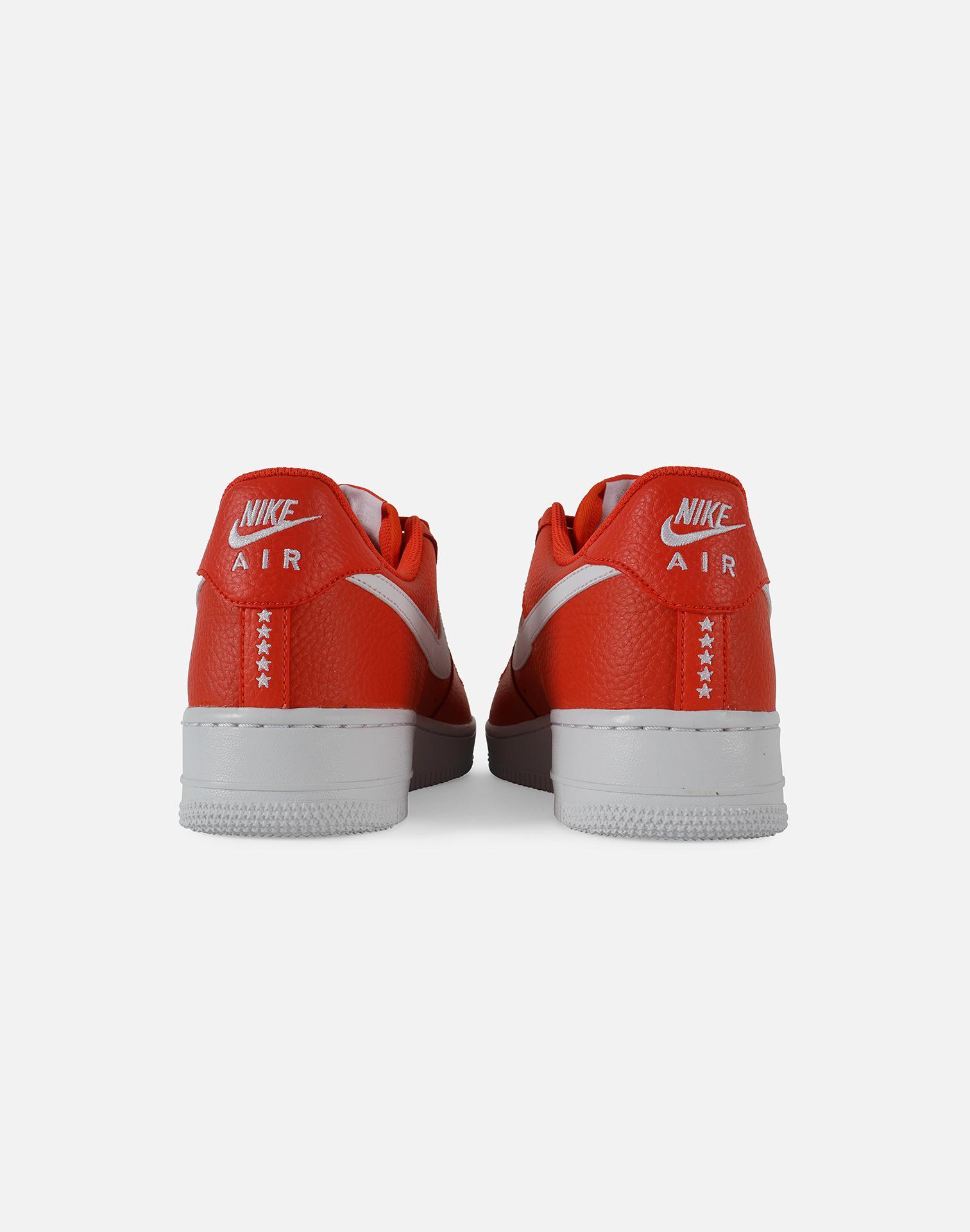 8beefc77480a Nike - Orange Air Force 1 07 - Lyst. View Fullscreen