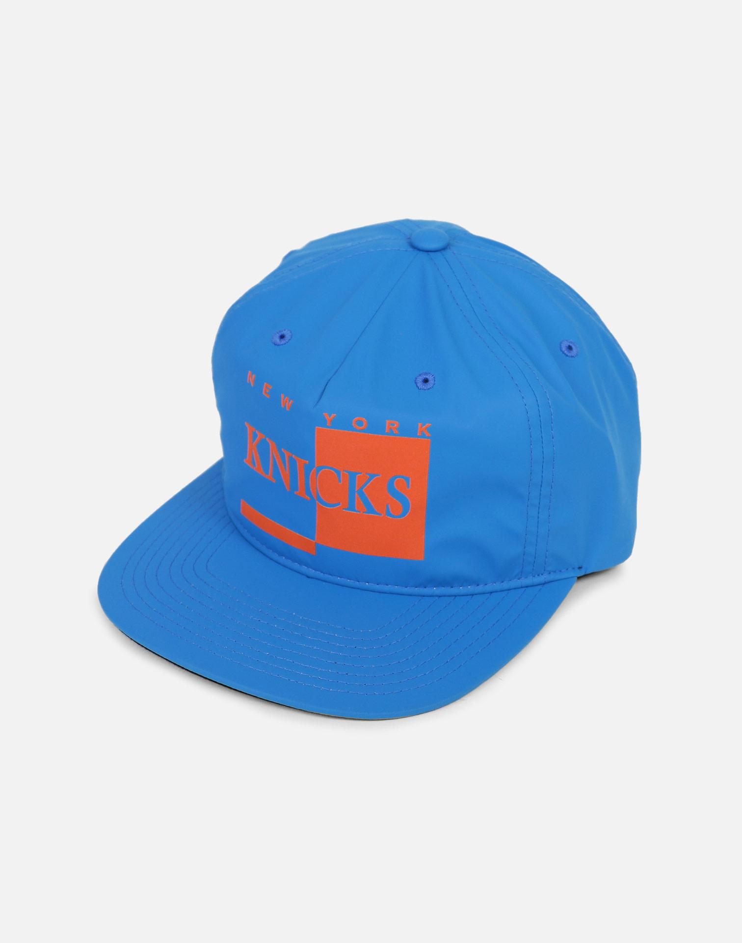 the best attitude 23a2f 85e7d Lyst - Mitchell   Ness New York Knicks Rainy Day Pinch Strapback Hat ...
