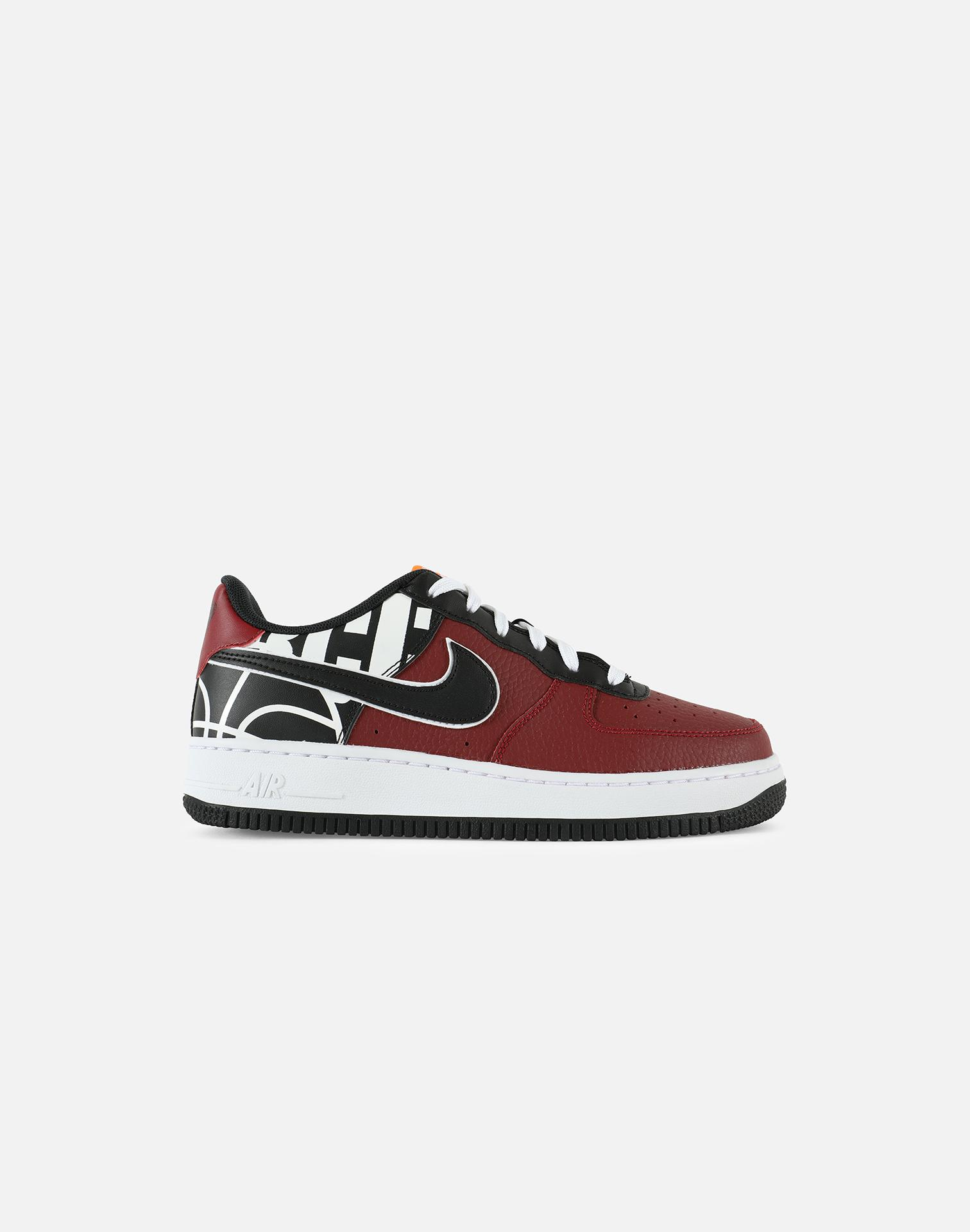 607ea7dae073a ... official store lyst nike air force 1 low lv8 grade school in red for men  3334d